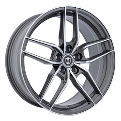 Curva Wheels CFF25 - Gunmetal Machine Face Rim