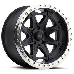 DV8 Wheels 882 Offroad True Beadlock - Black Rim