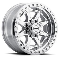 DV8 Wheels 882 Offroad True Beadlock - Polished Rim