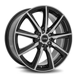 Diablo Racing Wheels DRW D18 - Gloss Black Machine Face Rim