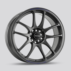 Drag Wheels DR31 - Charcoal Gray Rim - 17x7