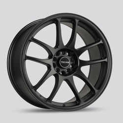 Drag Wheels DR31 - Flat Black Rim - 17x7