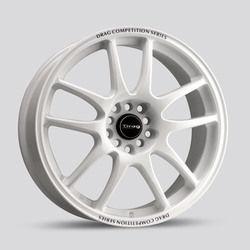 Drag Wheels DR31 - White Rim - 15x6.5