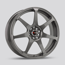 Drag Wheels DR33 - Gun Metal Rim