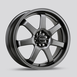 Drag Wheels DR35 - Charcoal Gray Rim