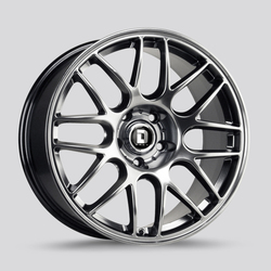 Drag Wheels DR37 - Hyper Black Rim