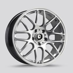 Drag Wheels DR37 - Hyper Silver Rim - 19x8