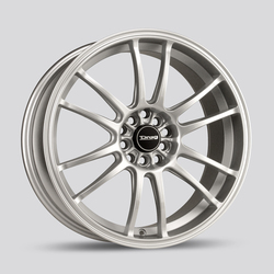 Drag Wheels DR38 - Silver Rim - 17x7