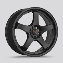 Drag Wheels DR63 - Flat Black Rim