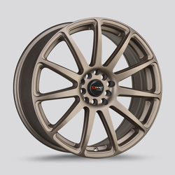 Drag Wheels Drag Wheels DR66 - Rally Bronze