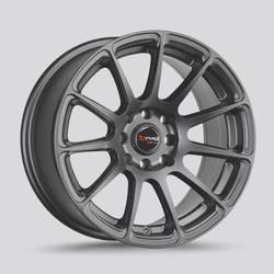 Drag Wheels DR66 - Charcoal Gray Rim - 17x7