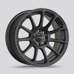 Drag Wheels DR66 - Flat Black Rim