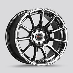 Drag Wheels DR66 - Virtual Chrome Rim
