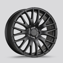 Drag Wheels DR69 - Flat Black Rim - 15x6.5