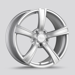 Drag Wheels Drag Wheels DR72 - Silver with Machined Face