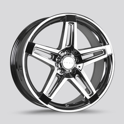 Drag Wheels DR74 - Virtual Chrome Rim