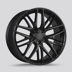 Drag Wheels DR77 - Flat Black Rim - 17x7.5