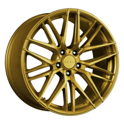 Drag Wheels DR77 - Gold Rim - 17x7.5