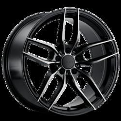Drag Wheels DR80 - Gloss Black Shadow Rim