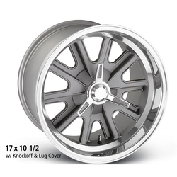 E-T Wheels AC III (Custom) - Cast Center/Polished Lip Rim - 15x9