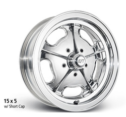 E-T Wheels Dragmaster Direct Mount - Polished Rim