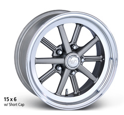 E-T Wheels Gasser - Cast Center/Polished Lip Rim
