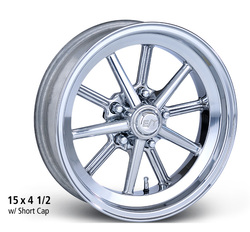 E-T Wheels Gasser - Polished Rim - 15x4.5