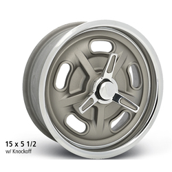 E-T Wheels Sebring - Cast Center / Machined Lip Rim - 16x5