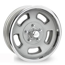 E-T Wheels Sprint - Cast Center/Polished Lip Rim