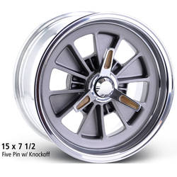 E-T Wheels Tringo FIA (Custom) - Blasted / Machined Lip Rim - 15x9.50
