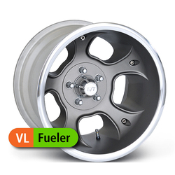 E-T Wheels E-T Wheels Fueler Value - Painted Gray/Diamond Lip