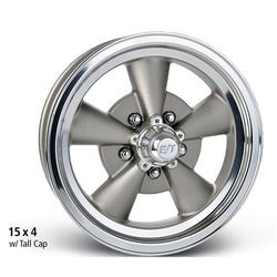 E-T Wheels Vintage V - Cast Center / Machined Lip Rim