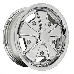 Empi Wheels 911 Alloy - Chrome Rim - 15x4.5