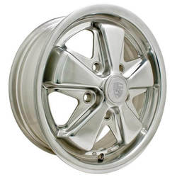 Empi Wheels 911 Alloy - Polished Rim - 15x4.5
