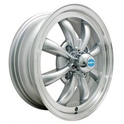 Empi Wheels GT-8 - Silver w/Polished Lip Rim