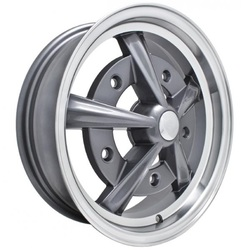 Empi Wheels Raider - Anthracite w/ Polished Lip Rim - 15x5