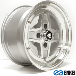 Enkei Wheels Apache II - Silver Machined