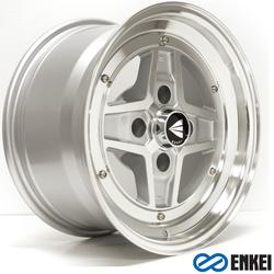 Enkei Wheels Apache II - Silver Machined - 15x8