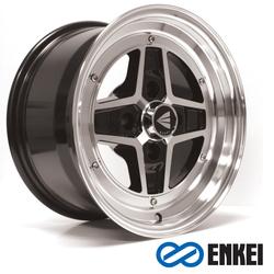 Enkei Wheels Apache II - Black Machined Rim