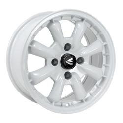 Enkei Wheels Compe - Gloss White Rim - 15x8