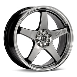 Enkei Wheels EV5 - Hyper Black Rim