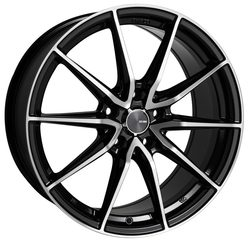 Enkei Wheels Draco - Black Machined Rim - 16x7