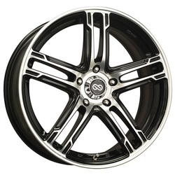 Enkei Wheels FD-05 - Black Machined Rim - 15x7
