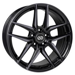 Enkei Wheels Icon - Pearl Black Rim - 17x7.5