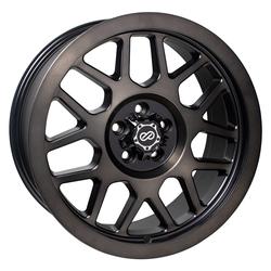 Enkei Wheels Matrix - Brushed Black Rim