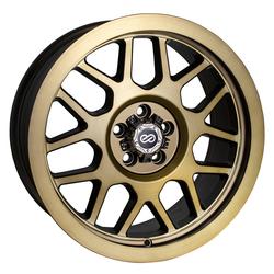 Enkei Wheels Matrix - Brushed Gold Rim
