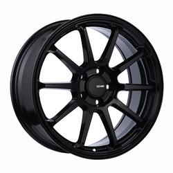 Enkei Wheels PX-10 - Gloss Black Rim - 18x8