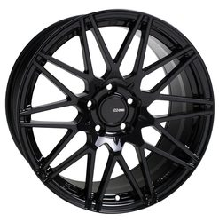 Enkei Wheels TMS - Gloss Black Rim - 18x8.5