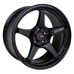 Enkei Wheels TS5 - Gloss Black Rim - 18x8.5