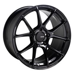 Enkei Wheels TSV - Gloss Black Rim - 18x8.5